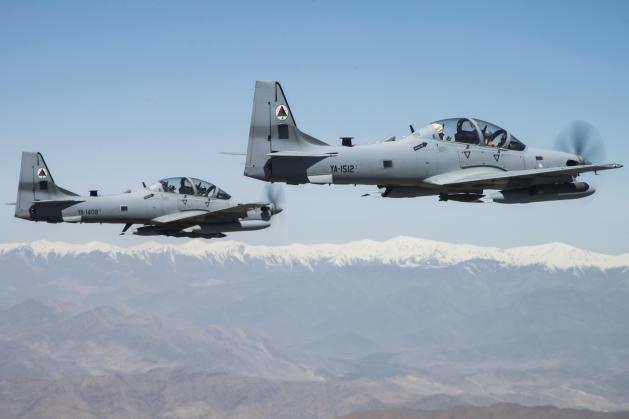 Operation Enduring Freedom a-29 super tucano