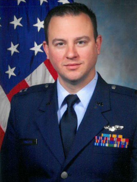 """Air Force Capt. Paul J. """"Stuck"""" Barbour"""