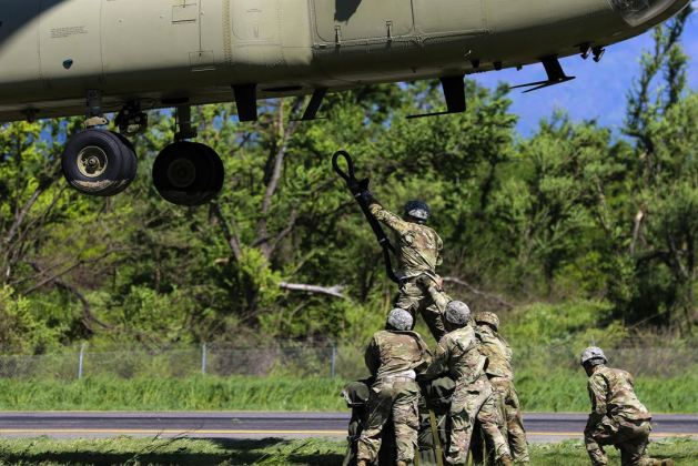 Combat Aviation Brigade Slingload Certification Training