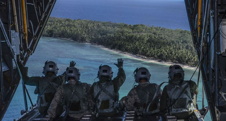 Western Pacific and Micronesia islands Operation Christmas Drop