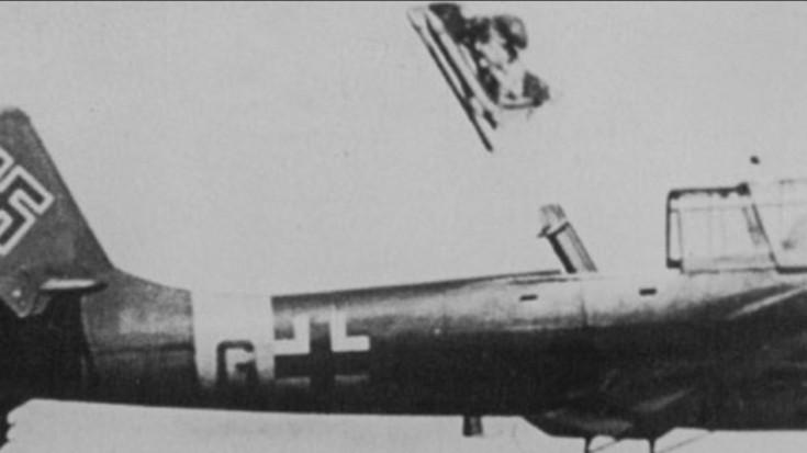 German test pilot Helmut Schenck