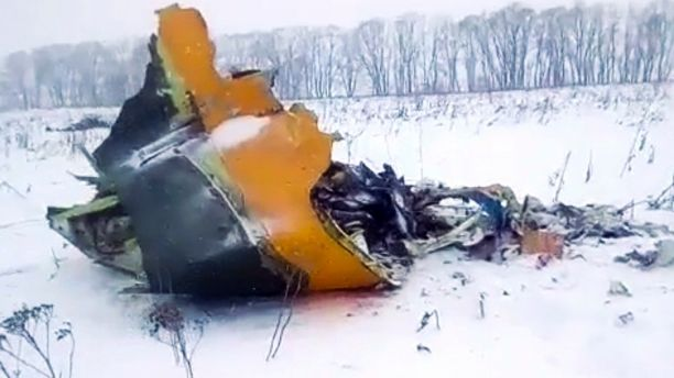 russian jet crash 71 dead