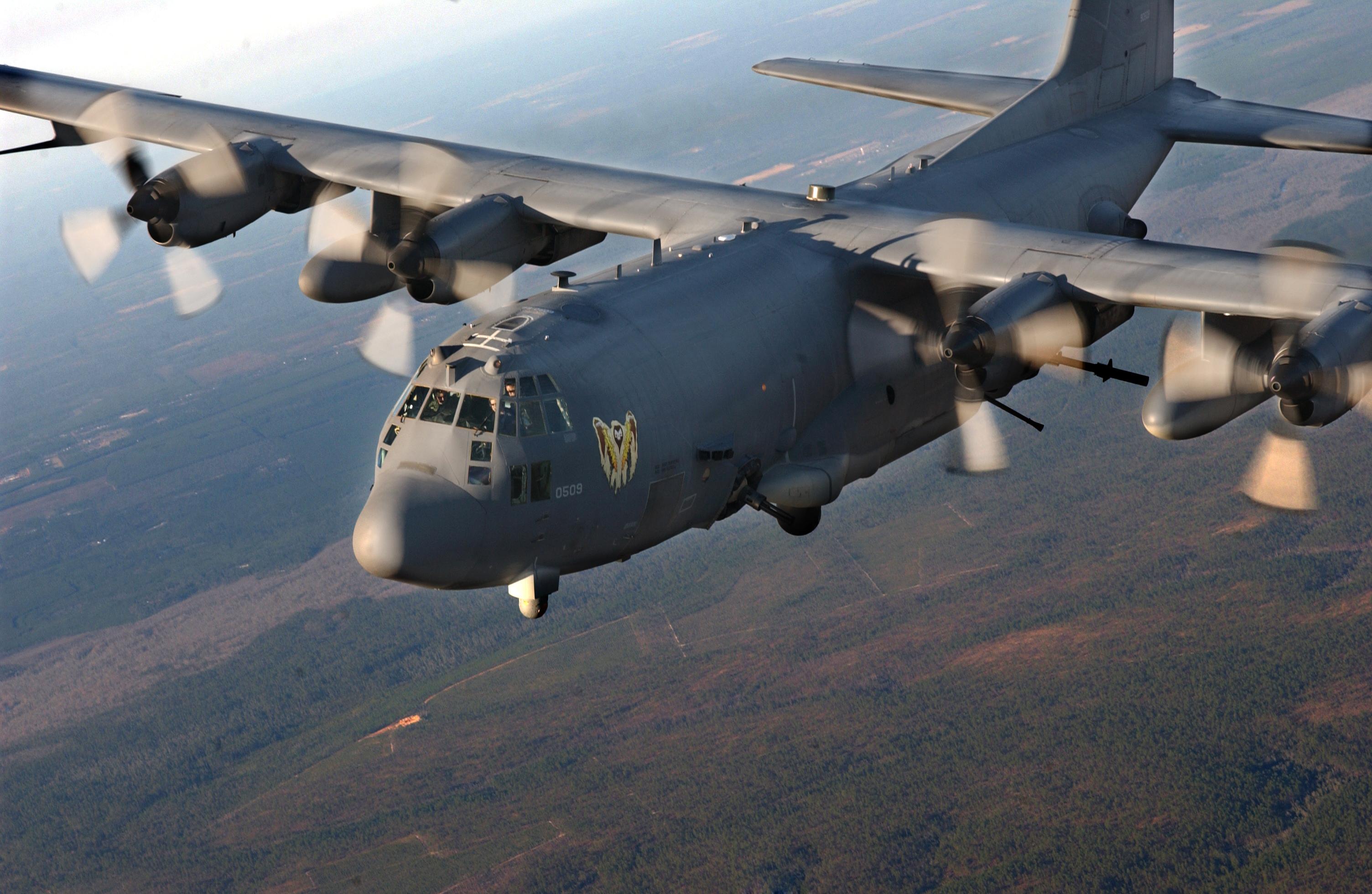 US Air Force AC-130 Gunships