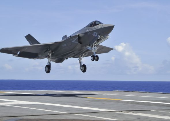 F-35C Lightning II carrier variant, assigned to the Grim Reapers of Strike Fighter Squadron (VFA) 101