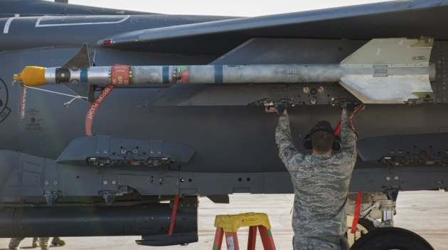 Staff Sgt. Dustin Machen, 389th Aircraft Maintenance Unit Weapons Loader