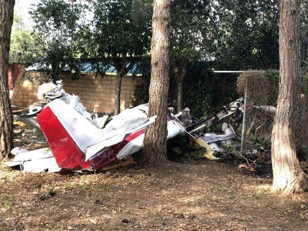 home built plane crash two dead california