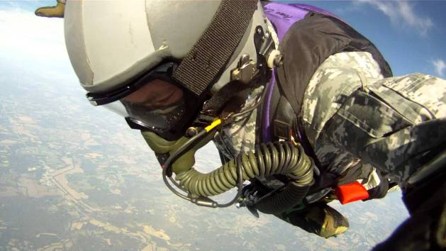 David Roe 30,063 ft HALO Jump with 2 Minute Freefall