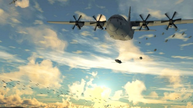 Gremlins Attack Drones to be Launched from F-22 & F-35 Aircraft