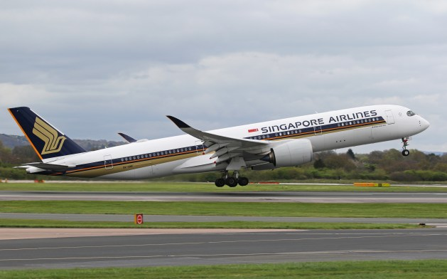 Singapore Airlines Airbus A-350-900ULR