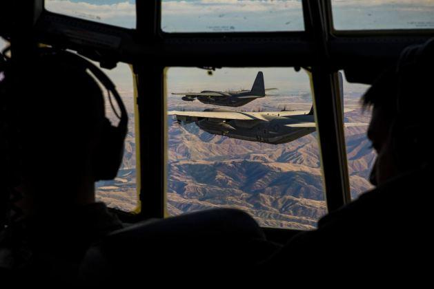 USMC KC-130 Formation Flying