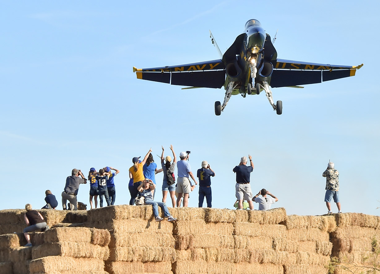 usnavyblueangels airshow low pass