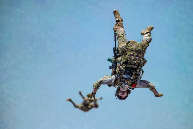 82nd ERQS Performs HALO Jump Ops