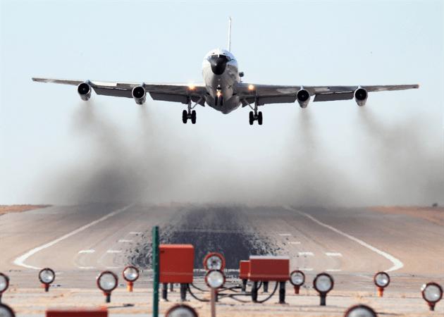 WC-135W Constant Phoenix aircraft
