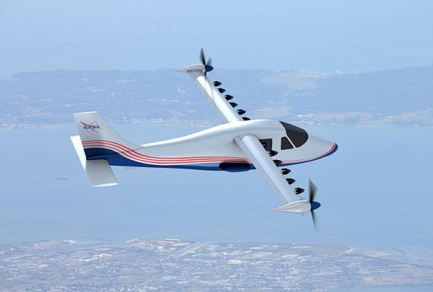 NASA's X-57 Electric Research Plane