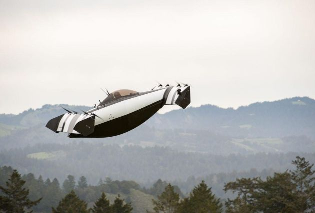 Blackfly Personal Flying Vehicle