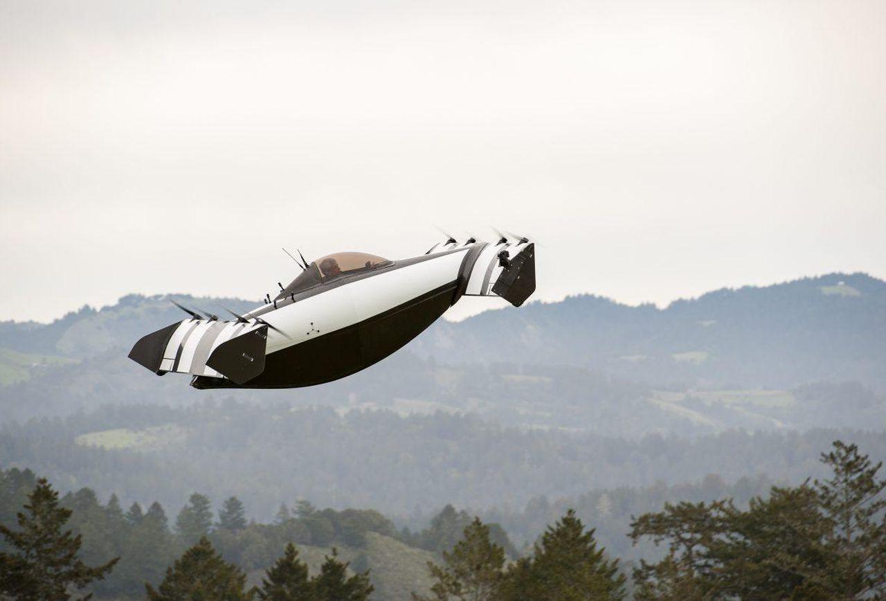 Blackfly Personal Flying Vehicle