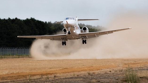 Land on an Unpaved Runway? The Pilatus PC-24