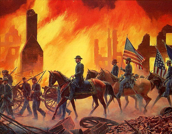 Image result for sherman's march