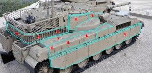 Merkava Mk2 Armor Image 4