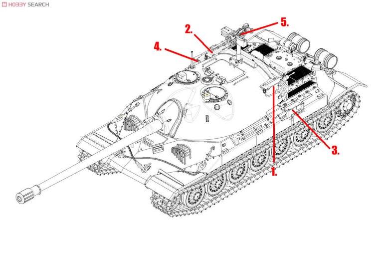 IS-7 Tank Guns