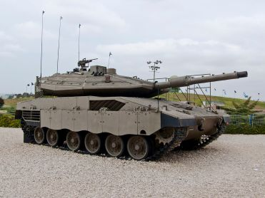 Merkava Mk 4 Tank at Yad la-Shiryon Museum image 4