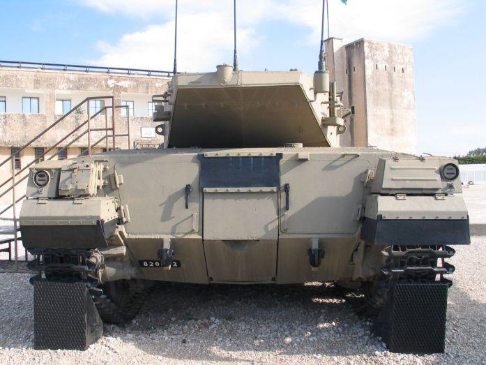Merkava Tank Rear