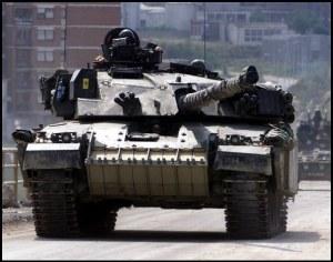 Challenger 1 Tank Kosovo