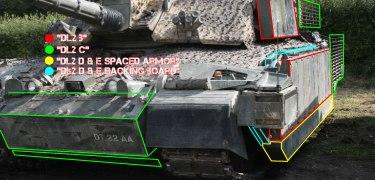 Challenger 2 Tank DL2 D