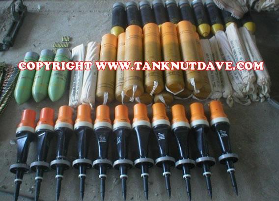 Challenger 2 Tank Ammunition Full Bombload