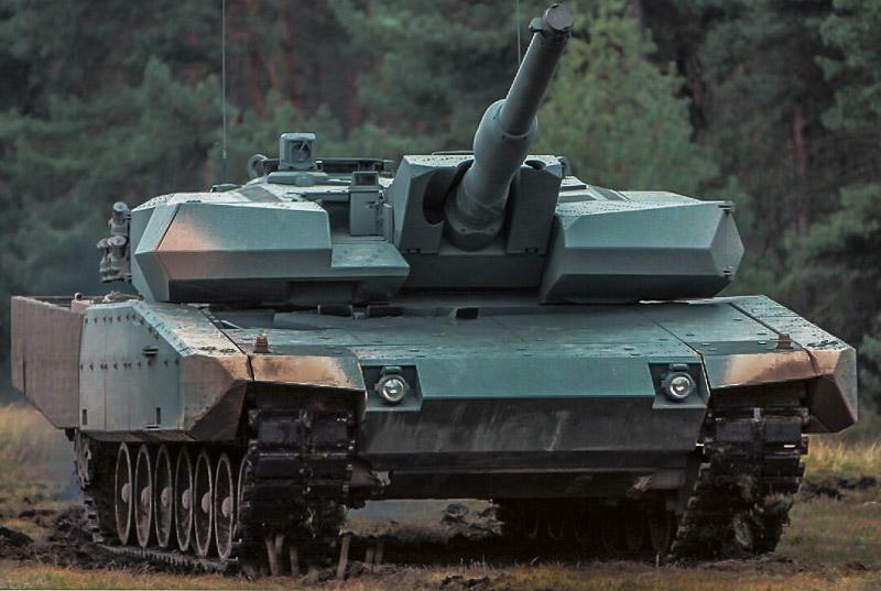 Leopard 2 Evolution