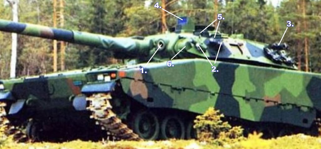 CV90105 TML Turret