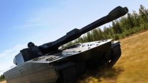 Combat Vehicle 90 – CV90120 Medium Tank ADAPTIV Armor