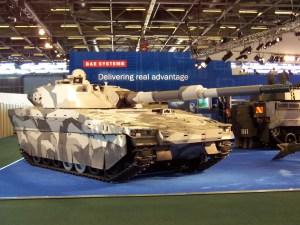 Combat Vehicle 90 – CV90120 Medium Tank AMAP ADS