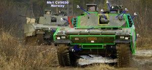 Combat Vehicle 90 - Mk1 CV9030