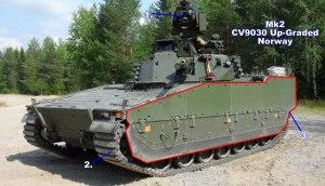 Combat Vehicle 90 - Mk2 CV9030 Norway Upgrade