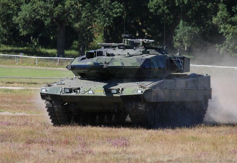 Strv 122 Tank