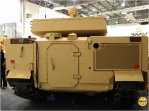 BAE FRES SV Scout Vehicle