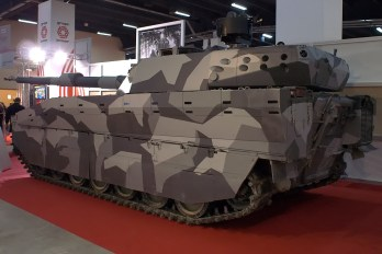 CV90120 Medium Tank with AMAP-ADS Active Protection (2)