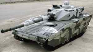 CV90120 Medium Tank with AMAP-ADS Active Protection