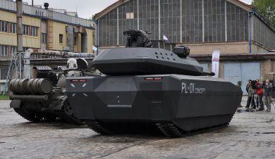 Polish PL-01 Concept Tank