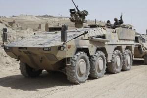 Artec Boxer Armored Personnel Carrier APC