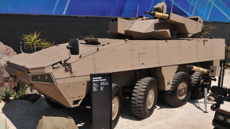 Badger Infantry Combat Vehicle - MCT Missile