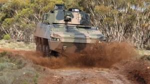Patria AMV35 aka Land 400 Vehicle by BAE