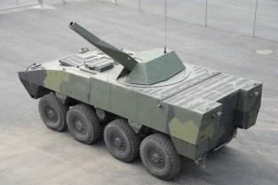 Patria NEMO Mortar mounted on AMV 8x8