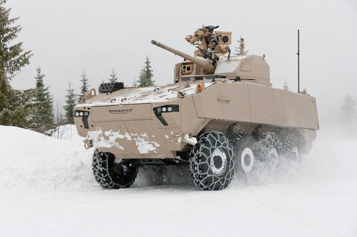 Piranha 5 with the PROTECTOR MCT-30 Turret