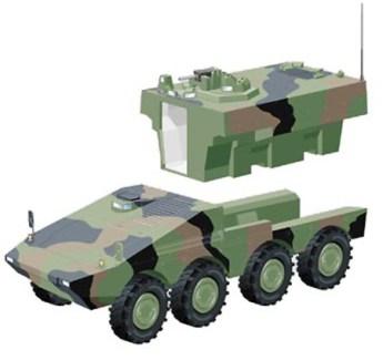 Artec Boxer Drive Module and Mission Module Integration Diagram