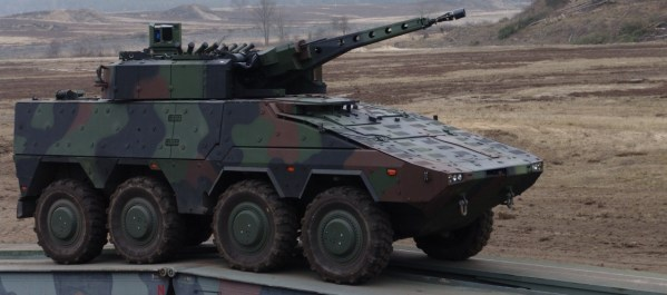Rheinmetall Boxer IFV With Lance RC Turret