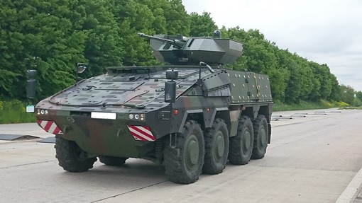 VILKAS Infantry Fighting Vehicle Prototype