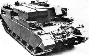 Centurion Tank Armored Recovery Vehicle (ARV) Mk 2
