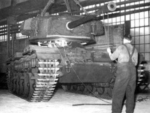 Centurion Tank Mk 3 assembly